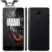 Brand New EU Version OnePlus 3T A3003 6GB 64GB 4G LTE Mobile Phone 5.5 Snapdragon 821 16MP Dual Camera NFC Android Smartphone