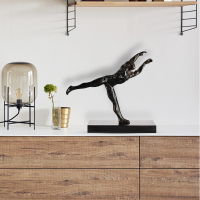 Simple Modern Creative Fitness Artifacts Decorations Nordic Sculpture Office Living Room Art Decorations