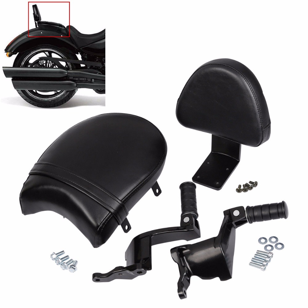Motorcycle Rear Footrest Mount Passenger Seat Backrest For Victory High ball Gunner Vegas
