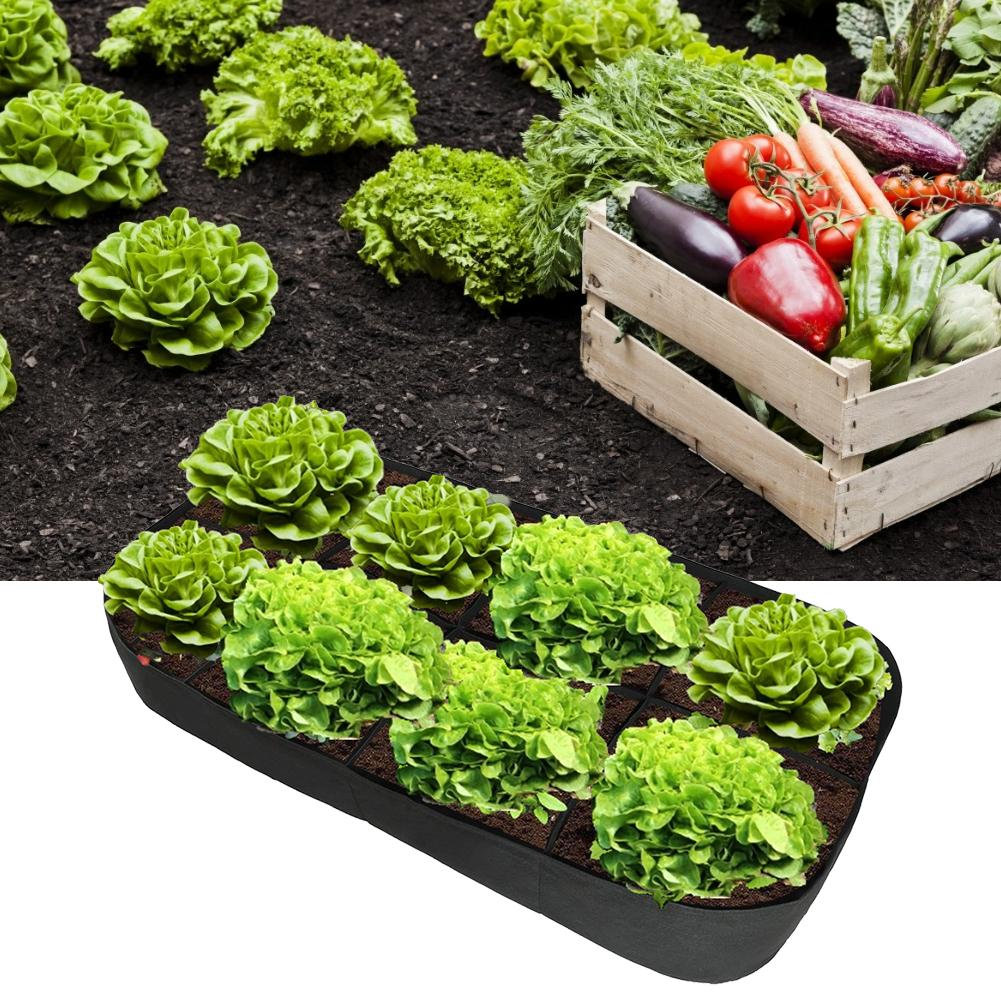 Garden Pots Planters Felt Planting Bag Multiport Garden Flower Seeds Vegetable Planting Outdoor Cultivation Farm Garden Supplies