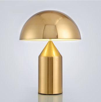 Скандинавский светодиодный светильник, креативная личность для спальни, лампа для ресторана, гостиной, кровать, Грибная настольная лампа