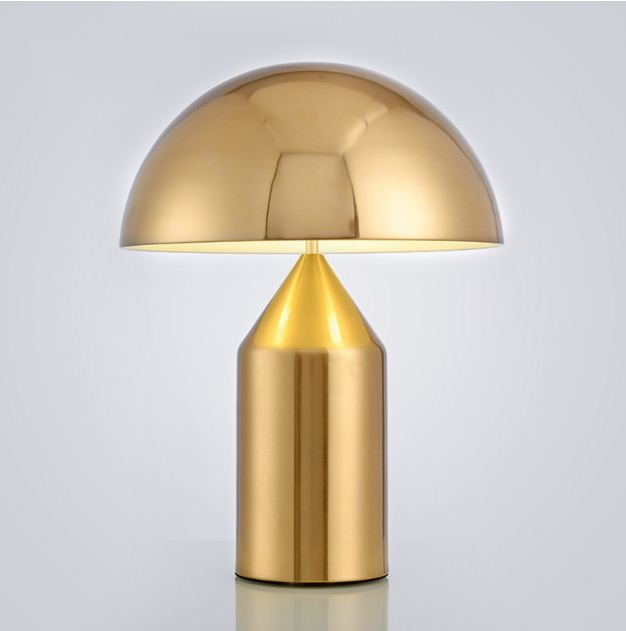 Nordic LED lights creative personality for the bedroom lamp restaurant living room bed mushroom table lamp