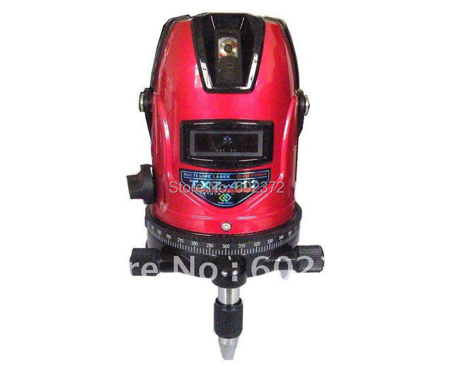 Free shipping  ! Cross ink  Line Laser  Level  Instrument with excellent quality  ( 4V1H)
