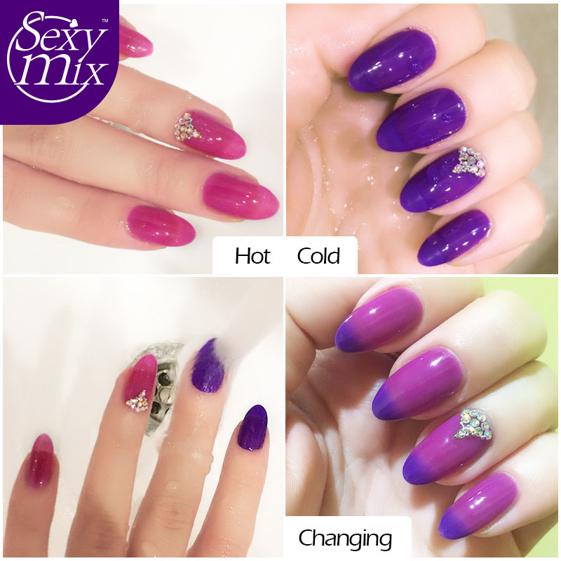Y Mix Temperature Change Chameleon Make Up Color Changing Uv Nail Gel Polish Long Lasting Varnish Newest In From Beauty