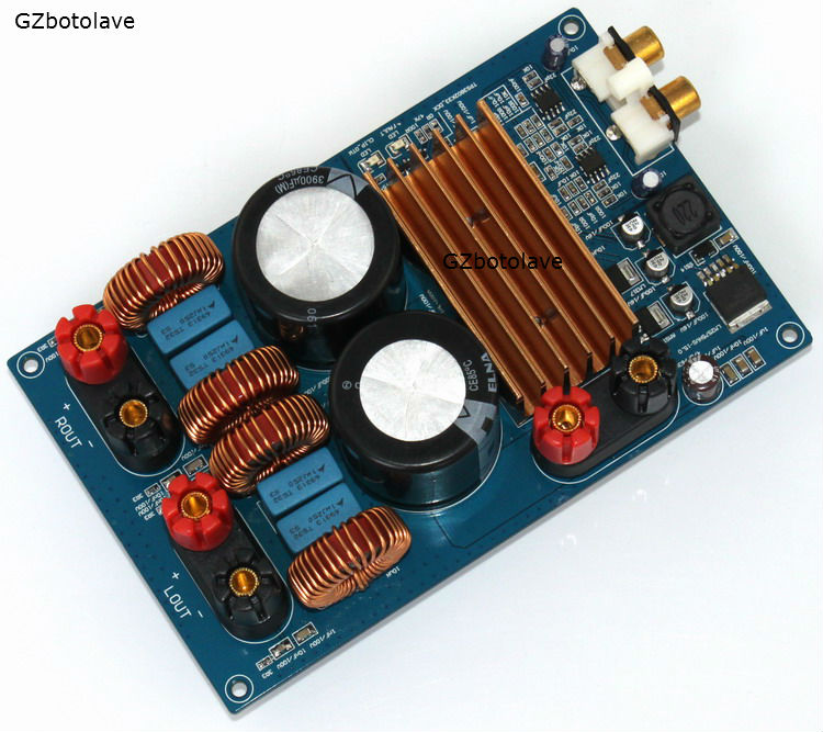 Free ship DC50V TPA3255 300W + 300W Class D audio Digital Amplifier Board free ship 10