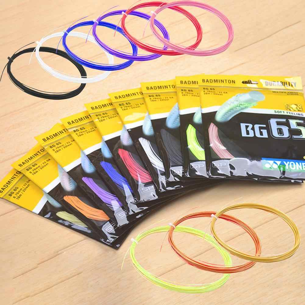 Badminton Racket Line BG65 95 85 80 Badminton Line High Elastic Resistance Training Competition Special Feather Line 1PC Bag
