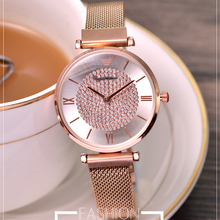 Women Watch New original drill ladies watch top high-end Concept Casual Youth Fashion Trend Simple Womens reloj mujer