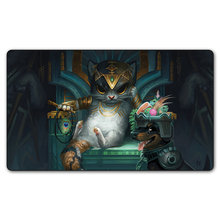 Magic board Games Cards Tasipurr the golden paw Lands Liliana Vess and Chandra Nalaar kissing mgt tcg Playmats with gift bag(China)