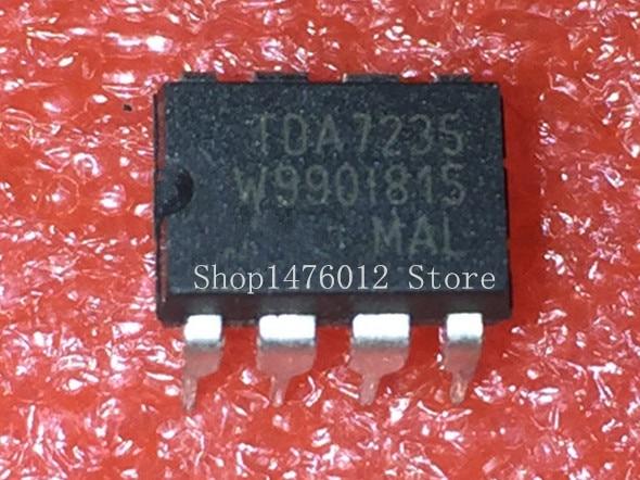 10PCS TDA7235 DIP-8