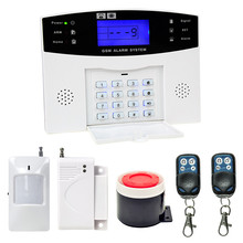New YA-500 Wireless WIFI Family House GSM Security Alarm System Burglar Alarm Automatic Dialing Infrared Motion Detection цена