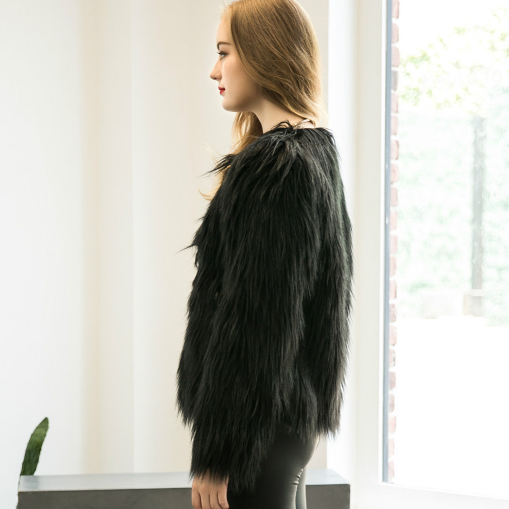 Chic Soft Faux Fur Coat 10