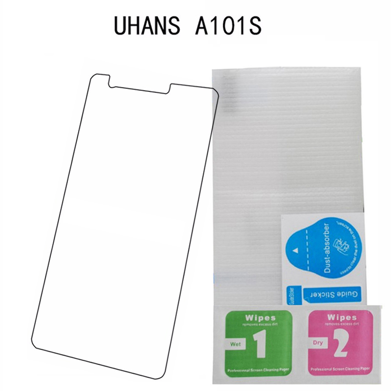 Uhans A101 Glass Screen Protector Front Film Scratch Proof Protective Guard Tempered Glass For Uhans A101s Mobile Phone Film