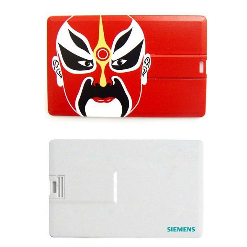 Custom LOGO Bank Card Shaped Usb Flash Drive Memory Stick ...