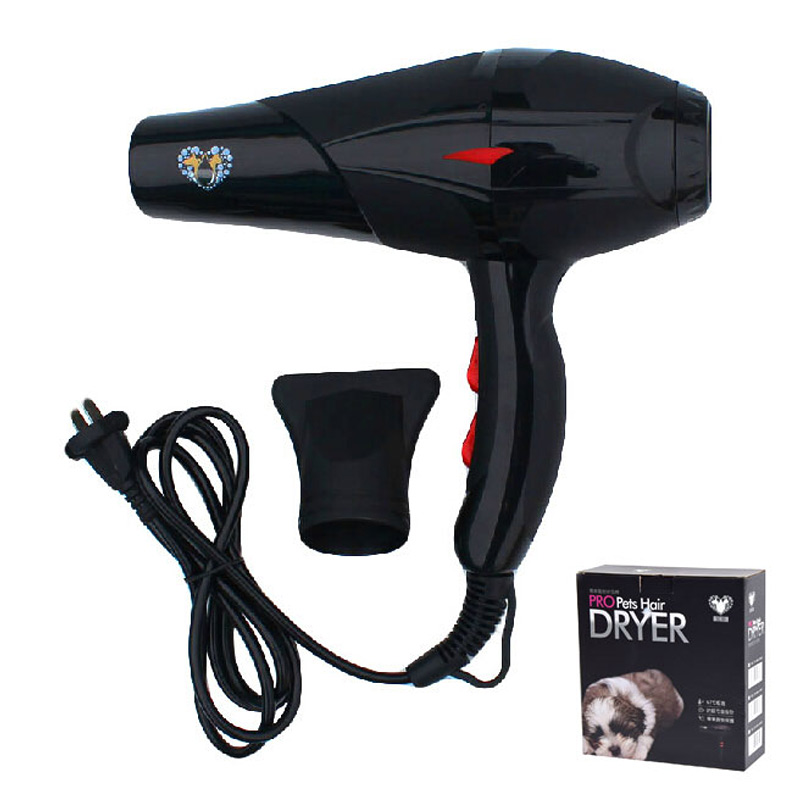 Pet Dog Hair Dryer 2000W Pet Variable Speed Dog Dryers Noise Reduction Processing Pet Product pet hair dryer blower sale 2400w variable speed quickly drying ru shipping