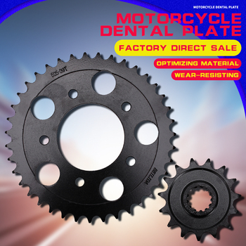 A set  Motorcycle Accessories Front and Rear Sprocket Chain For Honda CB-1