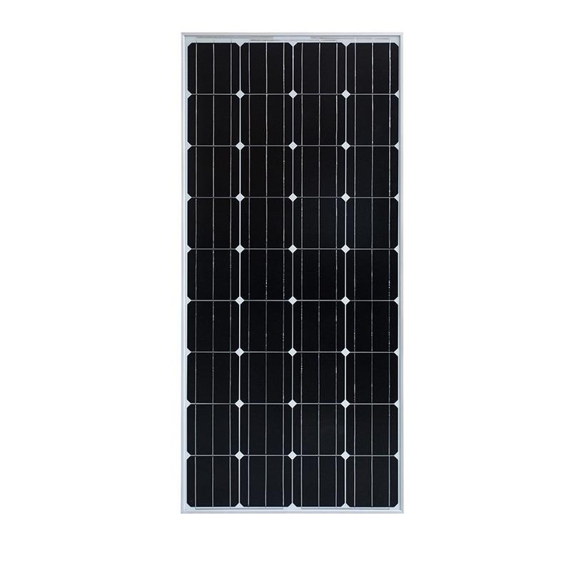 160w 18v solar panel PV module for 12v battery Charger, Home System, RV Boat Homes
