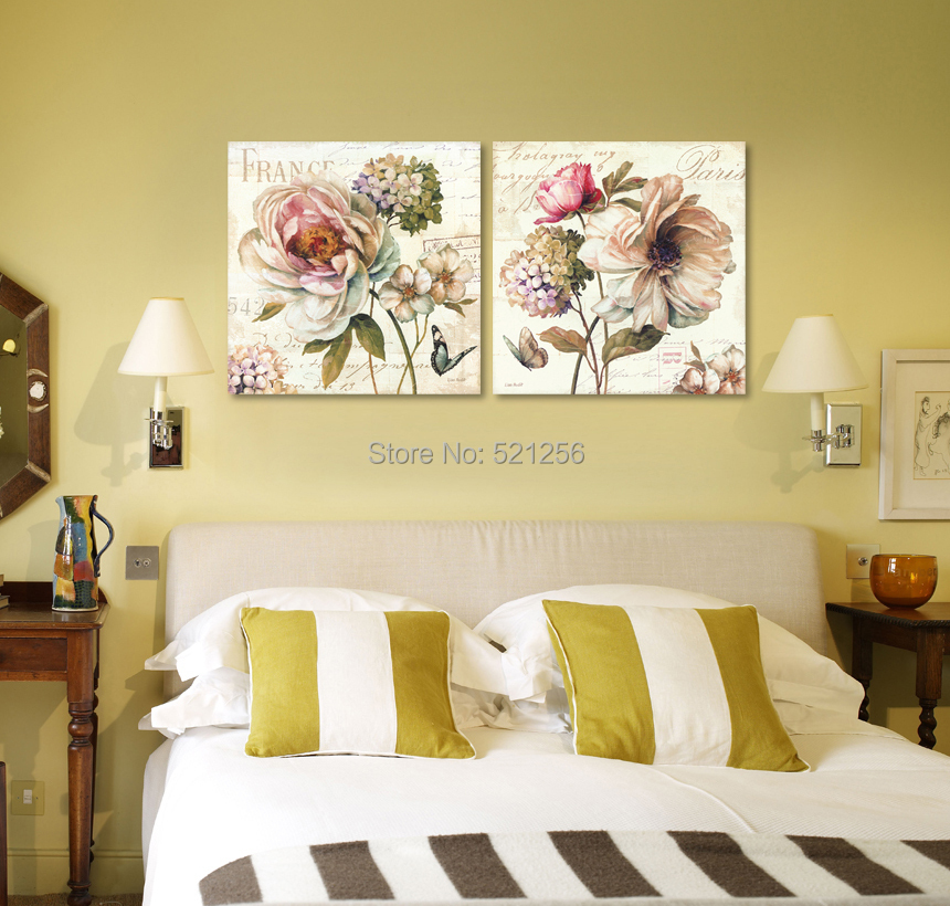 Home Decoration Wall Art Printed Oil Painting No Frame Canvas Prints ...