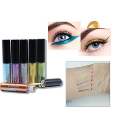 Get more info on the 6 colors Glitter Long Lasting shimmer and shine Eyeliner gel waterproof Liquid Eye Pencil glitter for eyes Makeup Cosmetics Tool