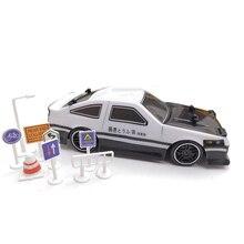 4WD drive snelle drift auto AE86 Afstandsbediening Auto 1:24 2.4G Radio Control Off Road Voertuig RC auto drift Hoge Snelheid Model auto speelgoed