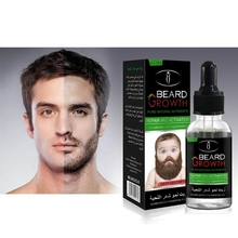 Professional Natural Men Growth Beard Oil Organic Beard Wax balm Avoid Beard Hai