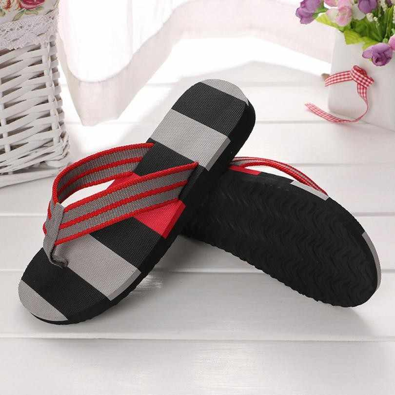 2dbc833925106a 2018 Hot Selling Fashion Beach Slippers Flip Flops Mens Slippers EVA Casual Men  Shoes Summer Sapatos
