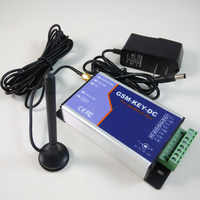 GSM-KEY-DC200 Two relay output and two alarm input port GSM gate opener