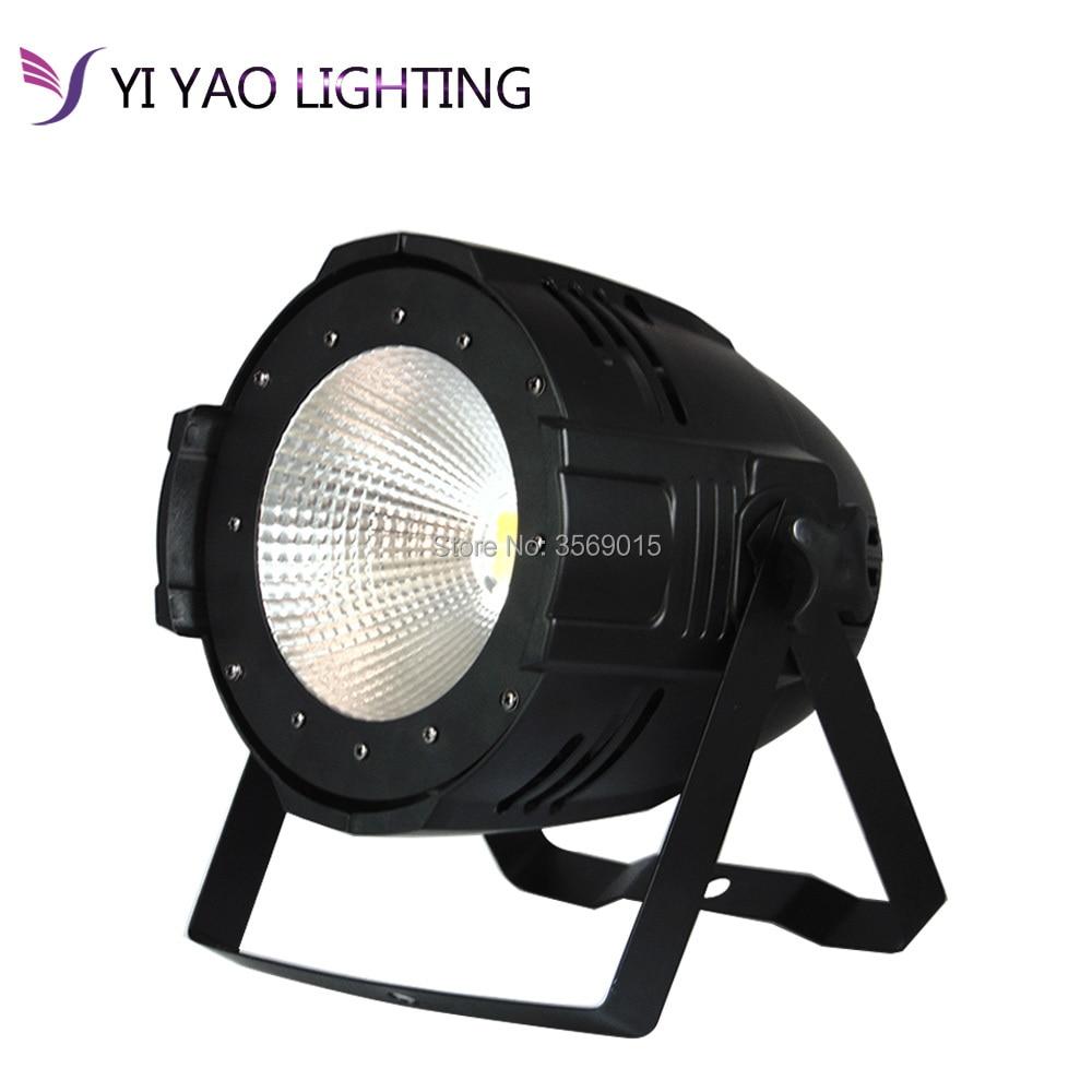 100W COB LED PAR DMX Theater Spotlight Warm White And White DMX512 LED Stage Lighting Projector Led Par 100w COB Light