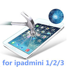Для ipadmini защитная Пленка Закаленное стекло Прозрачный Премиум Закаленное Стекло-Экран Протектор Для iPad мини 1 2 3 retina