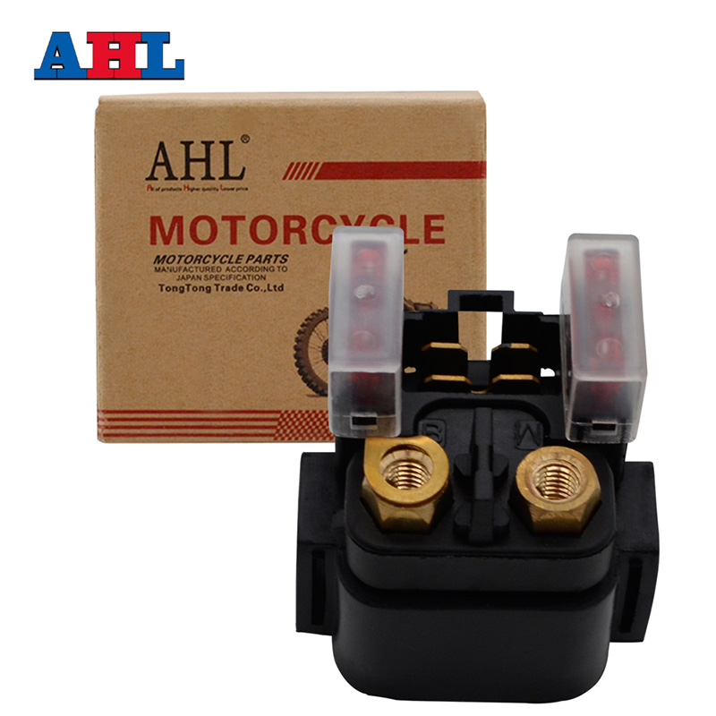 AHL Motorcycle Starter Solenoid Relay for POLARIS SAWTOOTH 200 QUAD 2006-2007
