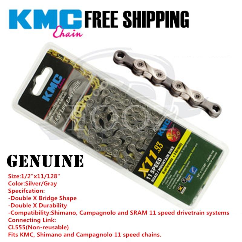 KMC X10SL 10 Speed 116 links Chain Gold Ti-N Road MTB Bike fit Shimano Sram