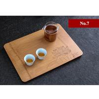 King Tea Mall One Piece Bamboo Tea Tray 7 Variations for Chinese Gongfu Cha,Saucers,Boards,TeaWares,TeaSets,TeaTools,Gifts