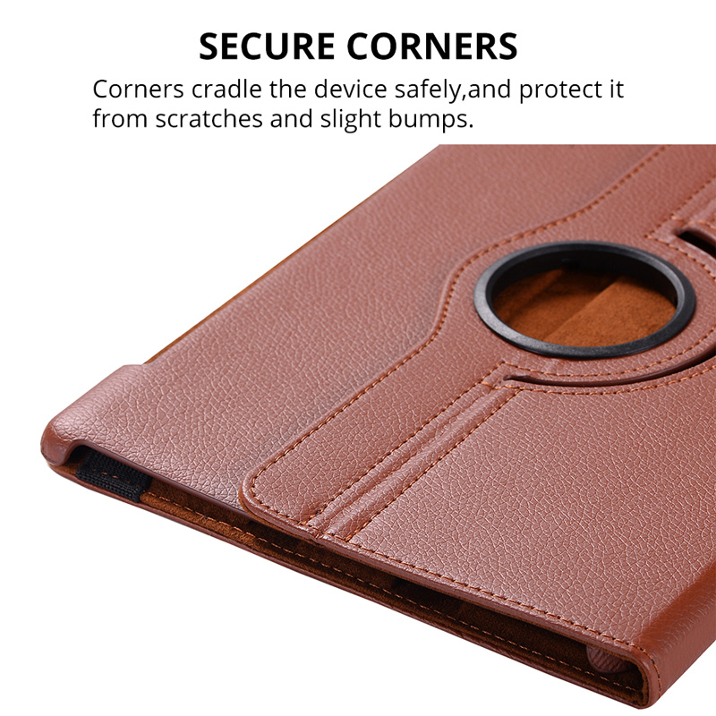 360 Rotating Leather funda Case for Huawei MediaPad M5 10 8 10 Pro inch  CMR-AL09 CMR-W09 smart Stand Flip Tablet Cover+film+pen