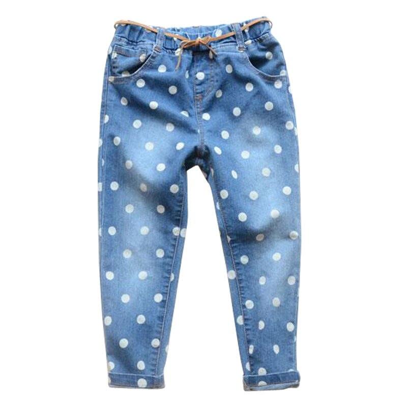 spring Girls jeans kids clothing children jeans Kids jeans fashion jeans children casual pants 2 6Y