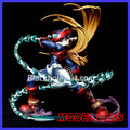MODEL FANS INSTOCK 23cm Rockman Zero Battle Damage form gk resin figure toy for Collection