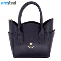 Aresland Women Bag Cute Cat Women Handbag With Shoulder Strap Belt Messenger Bag Luxury Handbags Quality