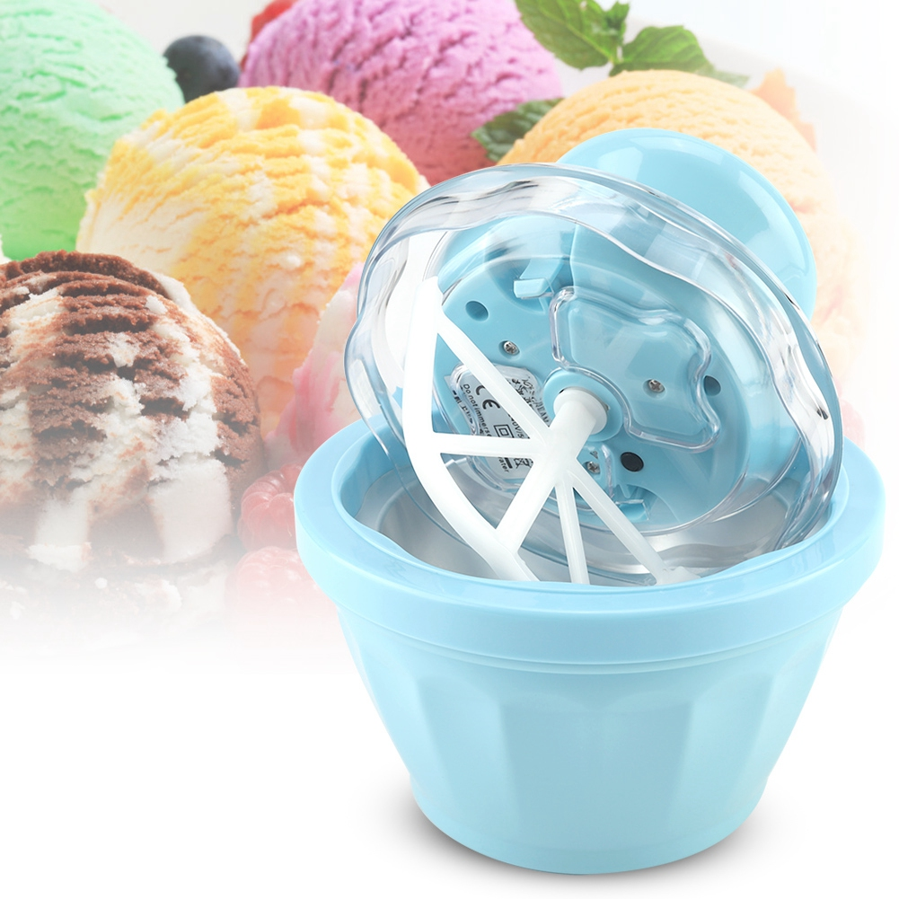 Portable and Automatic 220V Home Ice Cream Maker for Making Frozen Dessert and Ice Cream Quickly 7
