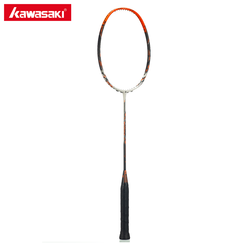 Kawasaki Force F7 Professional Badminton Rackets 3U Attack Type High Elastic Carbon Rod Box Frame 3 Stars Racquet