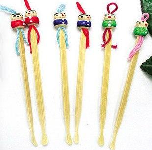 500pcs/1000pcs Handmade bamboo doll head ear spoon Earpick Spoon Tool Clean Remover Ear Wax Health Care 500pcs/1000pcs Handmade bamboo doll head ear spoon Earpick Spoon Tool Clean Remover Ear Wax Health Care