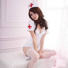 Nurse Taiwan version Sexy Lingerie Set Women Lenceria Hot erotic sexy costumes bodystocking sexy underwear pajamas