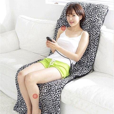 Massage Mattress Full body Multifunctional Cushion Electric Household The Elderly Heated Massage Pad 110V 240V