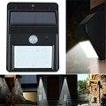 Novo 8 led Solar Ao Ar Livre Sensor de Luz LED, motion sensor faixa de detecção do sensor com o anoitecer eo amanhecer escuro auto função on/off