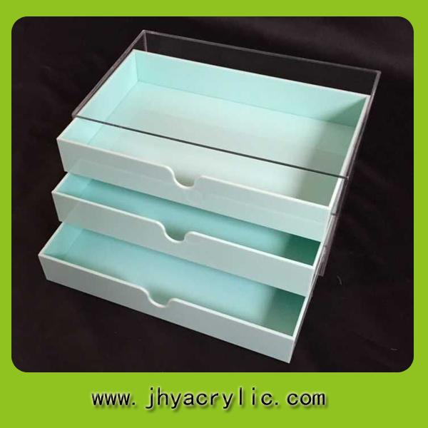 New Products Acrylic Tea Bag Organizer And Good Drawer Box
