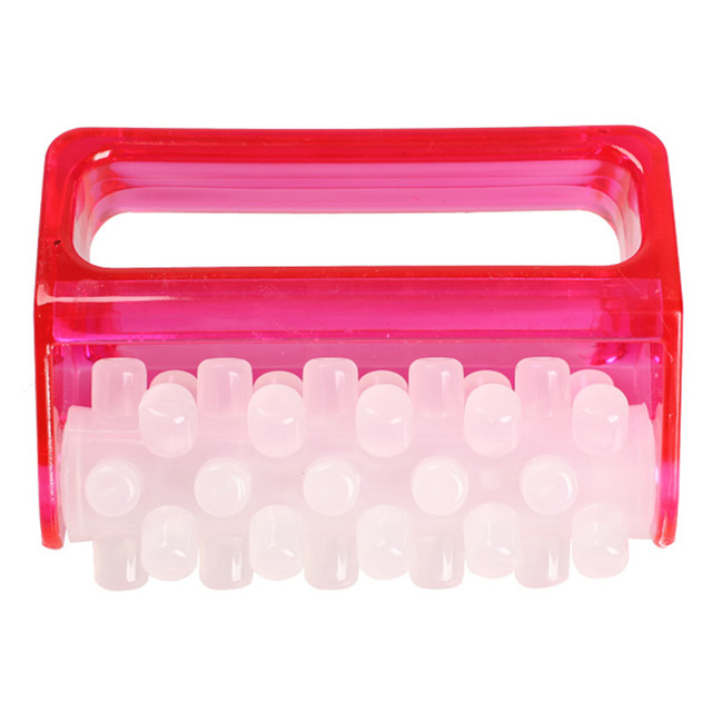 1PC ABS Slimming Body Massage Cell Roller Massager Fat Control Cellulite Fatigue Relief GUB#