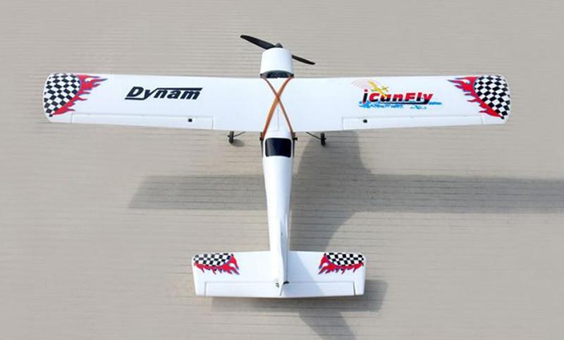 Dynam 1200mm I Can Fly RC RTF Propeller Plane W/ Motor ESC Servo Battery for original 6487180 servo i servo s battery module