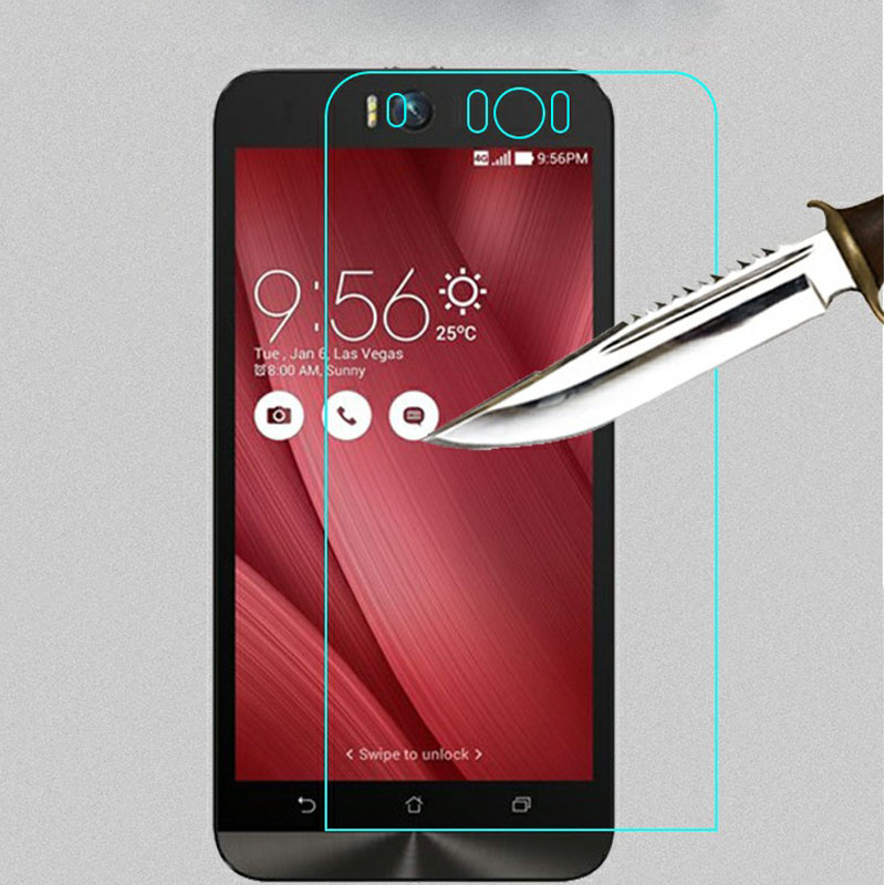 9H Tempered Glass Screen Protector Film For ASUS Zenfone Go ZB500KL 3 2 Laser ZE500KL 3 Max ZC520TL ZC550KL 4 5 6 Selfie ZD551KL