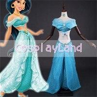 Костюм принцессы жасмин взрослых пикантные Бальные платья костюмы на Хэллоуин для Для женщин Косплэй Делюкс танец живота Брюки для девочек