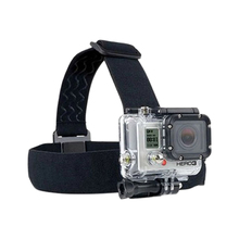 Extreme sports gopro Hero4/3/2/1 camera head straps three rubber super strong anti-skid A head-mounted strap