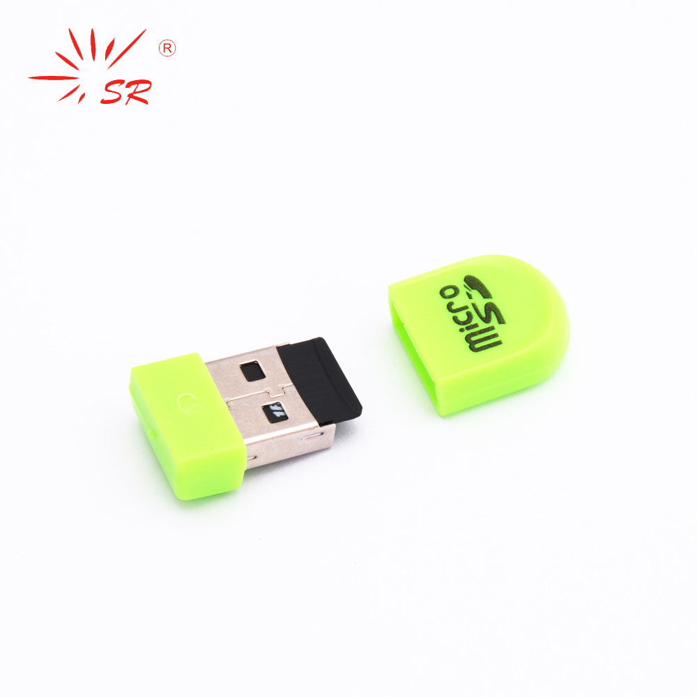 SR Pinkie Style Micro SD Card Reader USB 2.0 Flash Lector Memory OTG Adapter Drive For PC Laptop Accessories