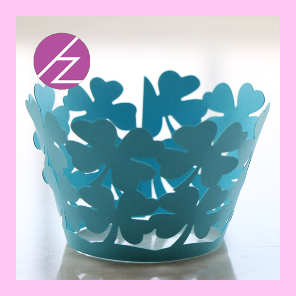 50PCSLot Free Shipping Birthday Party Paper Cup Cut Cupcake Wrapper
