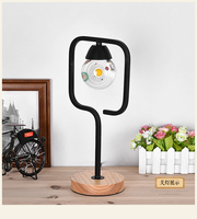 Solar system planet LED table lamp crystal ball Magnetic suction for computer side lamp night lamp bedroom lighting